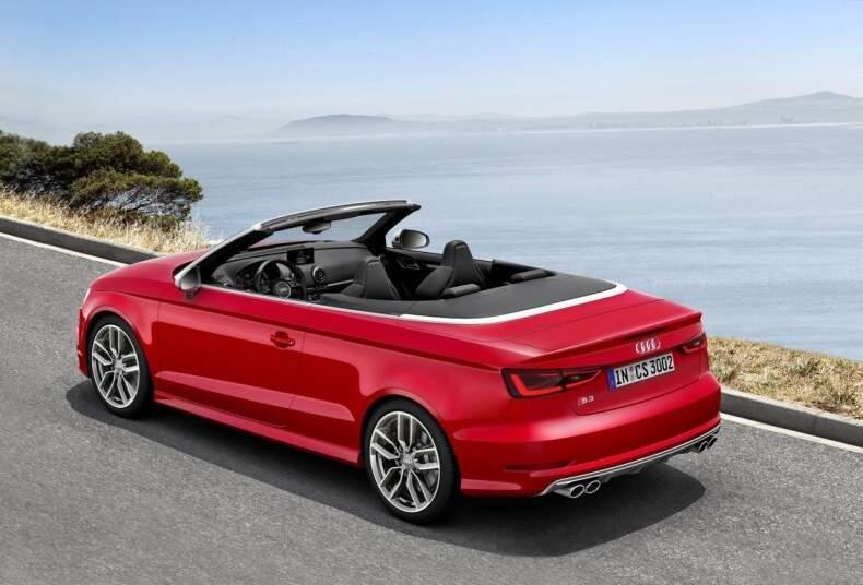 Audi S3 Cabriolet é apresentado oficialmente