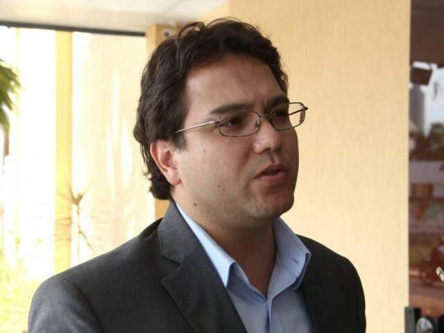 Secretário de Finanças, Pedro Pedrossian Nato. (Foto: Marcos Ermínio/Arquivo).