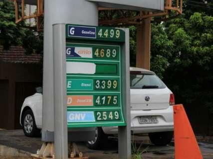 Petrobras aumenta em 2,25% o preço da gasolina nas refinarias