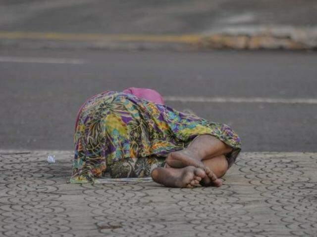 Em Campo Grande, droga leva dependentes para a rua. Mas rede pública não tem vagas nem para quem quer se tratar. (Foto: Marcelo Calazans/Arquivo)