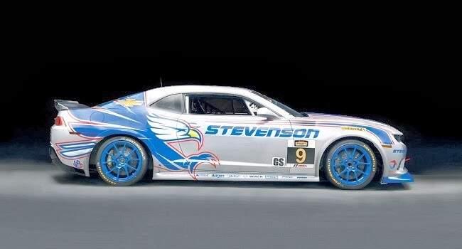 Chevrolet mostra versão de corrida do Camaro