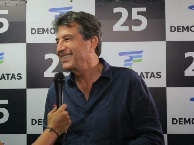Murilo Zauith, ex-prefeito de Dourados, presidente do DEM (Foto: Marina Pacheco)