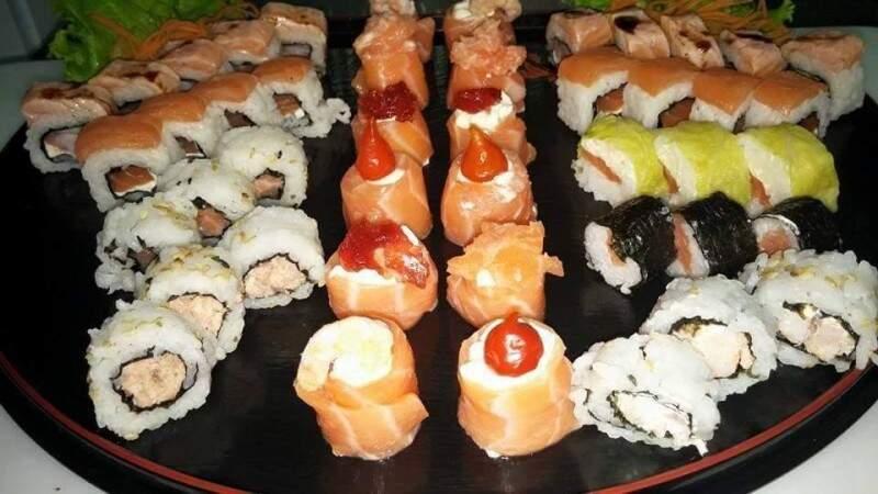 Variedas de sushis - (foto divulgação)