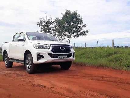Testamos a Toyota Hilux SRX 2019