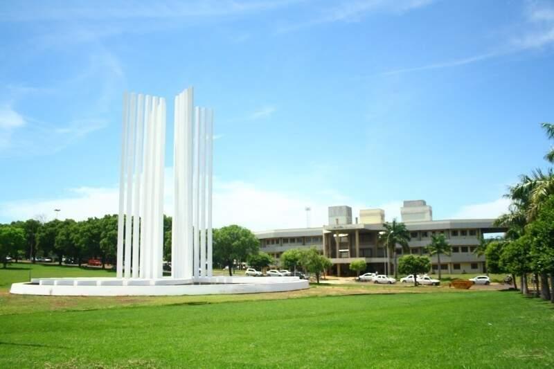 Campus da UFMS em Campo Grande (Foto: Marcos Ermínio/ Arquivo)