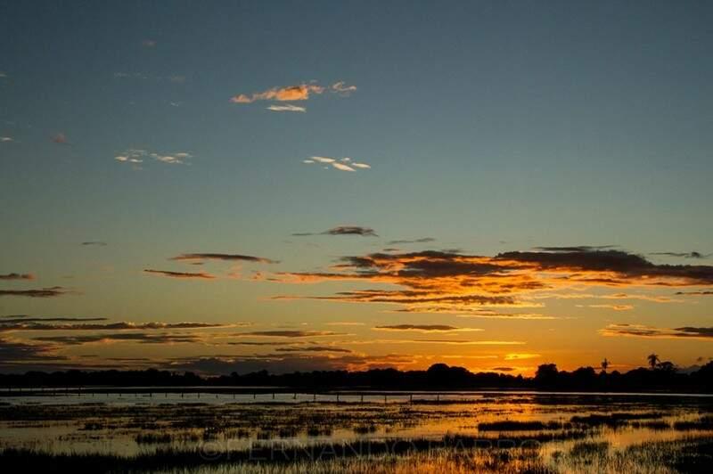 Sol deixando tudo mais lindo. (Foto: Fernando Barros)