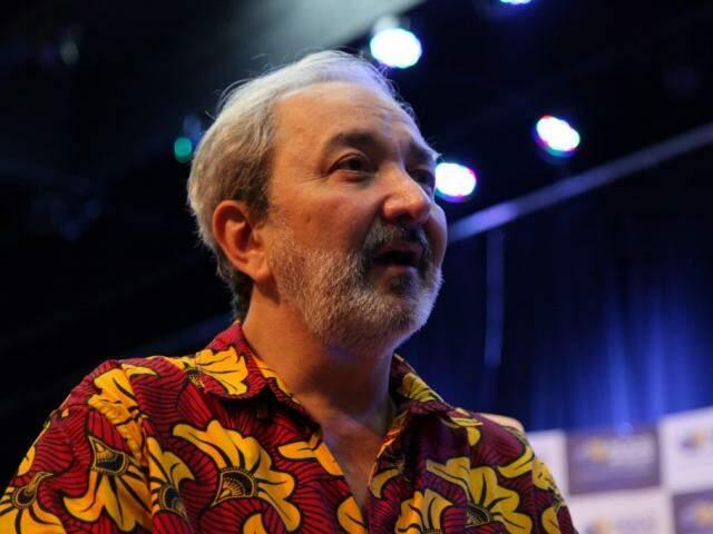O Doutor da Alegria é otimista em relação ao futuro e acredita numa mudança revolucionária. (Foto: João Paulo Gonçalves)