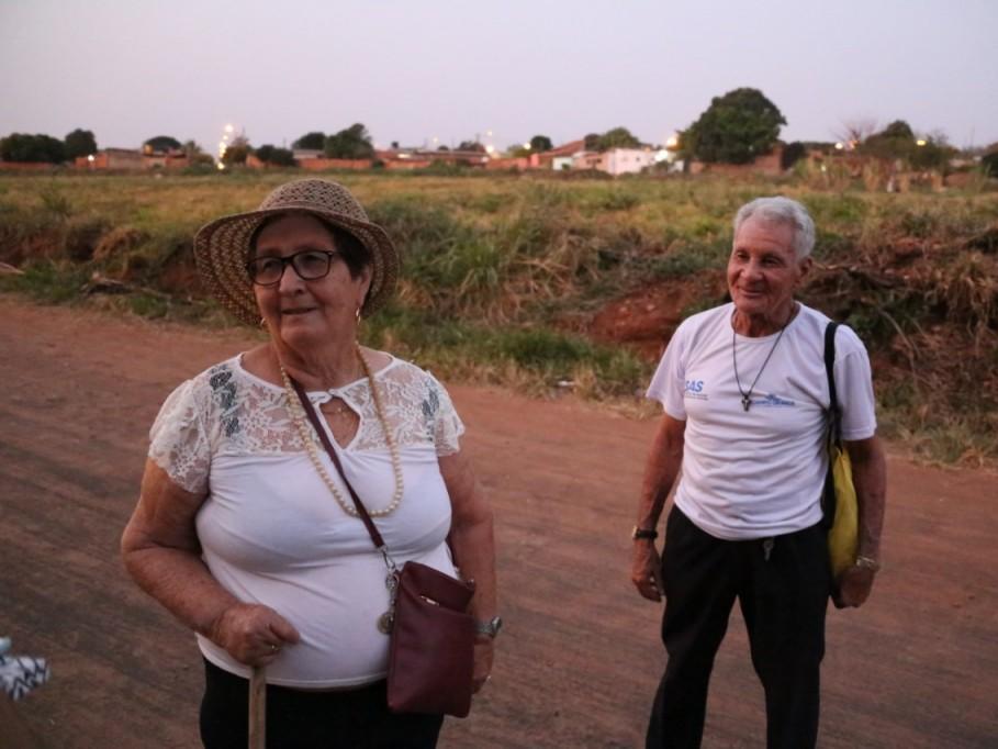 Moradores do Jardim Santa Felicidade lembram da mudança dos nomes. (Foto: Paulo Francis)