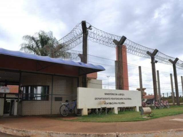 Presidio federal em Campo Grande, onde estão parte dos presos da Operação Omertá. (Foto: Arquivo)
