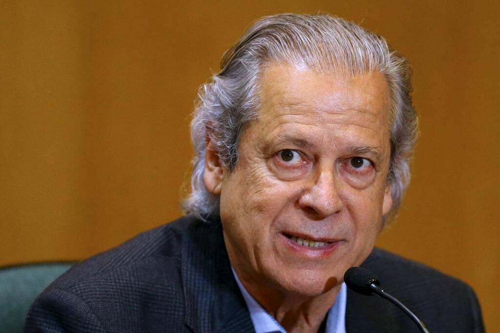 O ex-ministro da Casa Civil José Dirceu (Rodolfo Buhrer/Reuters)