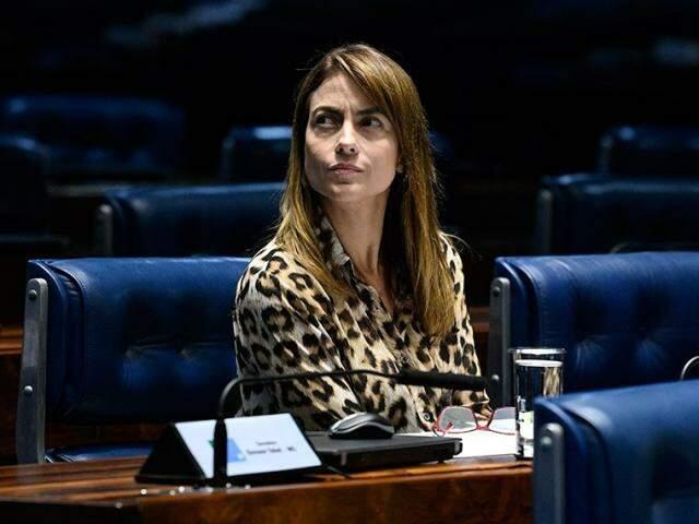 Soraya Thronicke, senadora do PSD. (Foto: Divulgação/Senado)