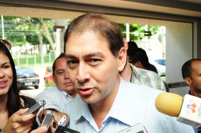 Alcides Bernal diz que invasões na Capital são orquestradas. (Foto: Rodrigo Pazinato)
