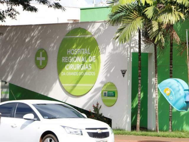 Hospital de Cirurgias da Grande Dourados funcionou por apenas 11 meses (Foto: Arquivo)