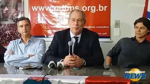 Na Capital, Ciro Gomes falou de Temer, Aécio e eleições; veja melhores trechos