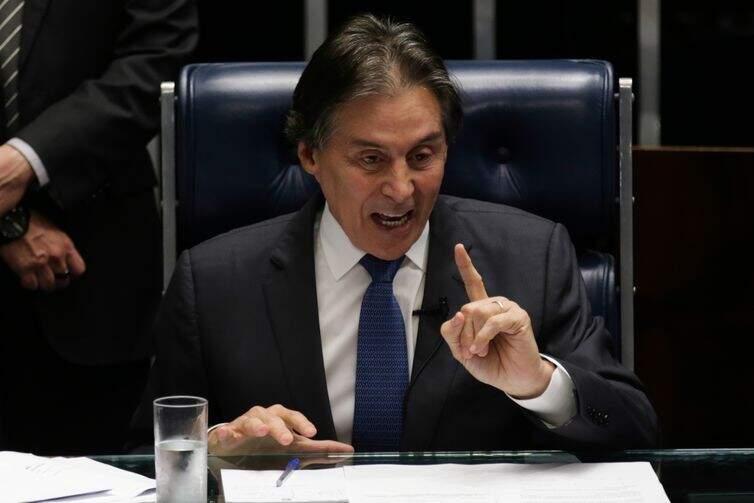 Eunício Oliveira, presidente do senado (Foto: Fabio Rodrigues Pozzebom/Agência Brasil)