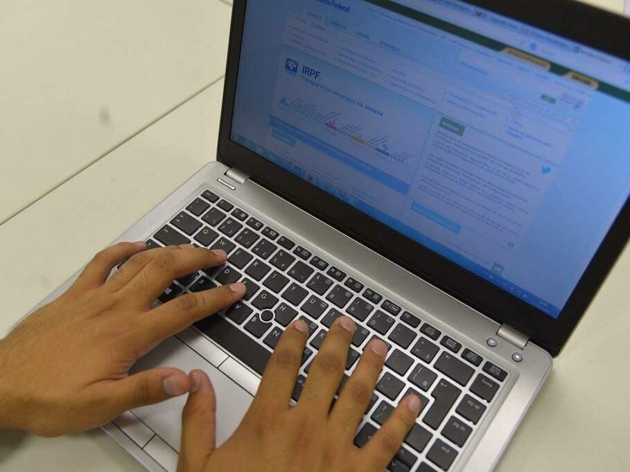 Consulta pode ser feita na página da Receita na internet (Foto: Marcello Casal Jr./Agência Brasil)