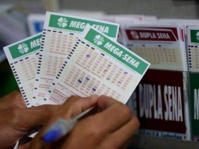 Mega-sena pode pagar R$ 37.000.000,00 neste sábado . (Foto: Arquivo)