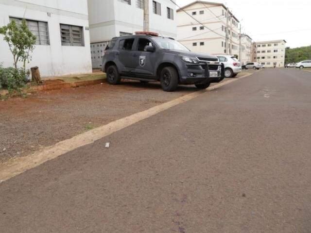 O crime aconteceu no residencial Reinaldo Busanelli II (Foto: Arquivo/Kisie Ainoã)