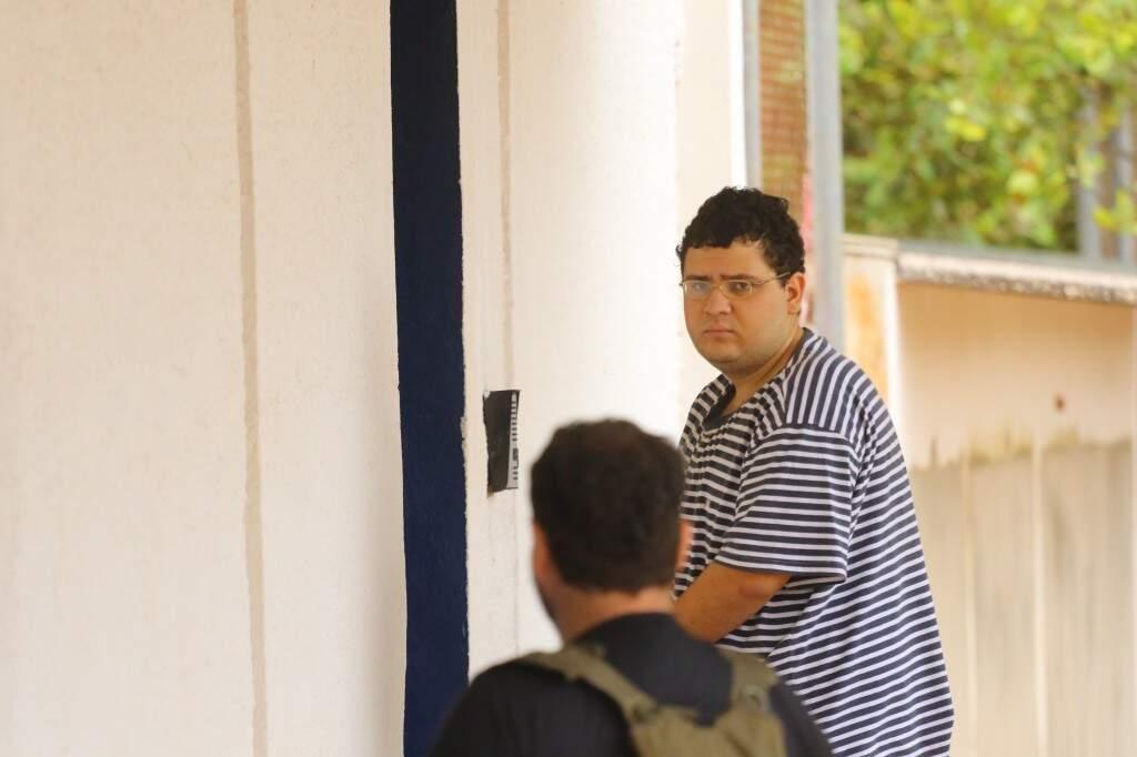 João Pedro da Silva Miranda Jorge foi liberado após pagar fiança de R$ 50.598,00 (Foto: André Bittar)