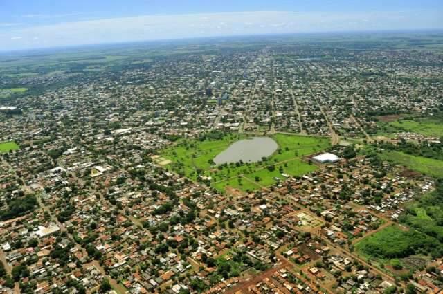 Chamada de Portal do Mercosul, 2ª cidade de MS comemora oito décadas