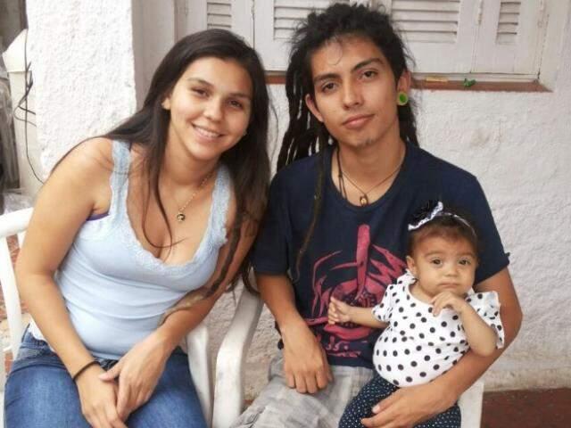 Tininha, Felipe e Lara. (Foto: Arquivo Pessoal)