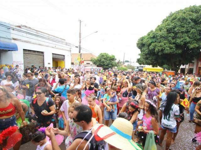 Animação ficará por conta dos blocos no Centro de Campo Grande (Foto: Arquivo)