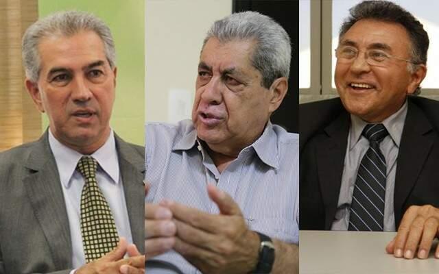Os partidos de Reinaldo Azambuja (PSDB), André Puccinelli (MDB) e Odilon de Oliveira (PDT) querem utilizar a ferramenta na eleição (Foto: Montagem - CG News)