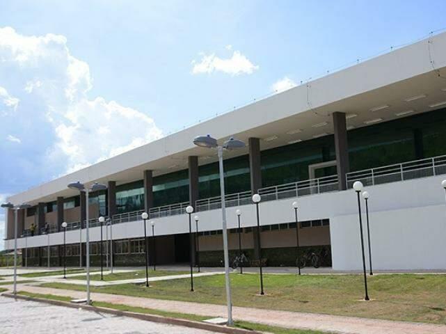 Bloco do IFMS em Corumbá. (Foto: Reprodução/DiárioCorumbaense)