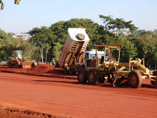Parque das Nações, que está recebendo obra de Aquário, terá plano de uso e ocupação dentro de 120 dias.