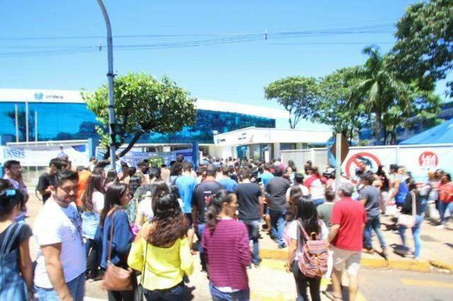 Uniderp oferece mais de 300 bolsas de estudo em Campo Grande (Foto: André Bittar/Arquivo)