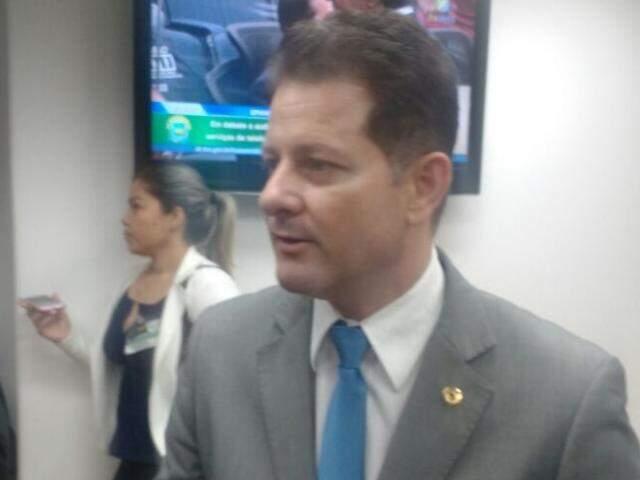 O deputado Renato Câmara, presidente do PMDB em Dourados. (Foto: Leonardo Rocha)