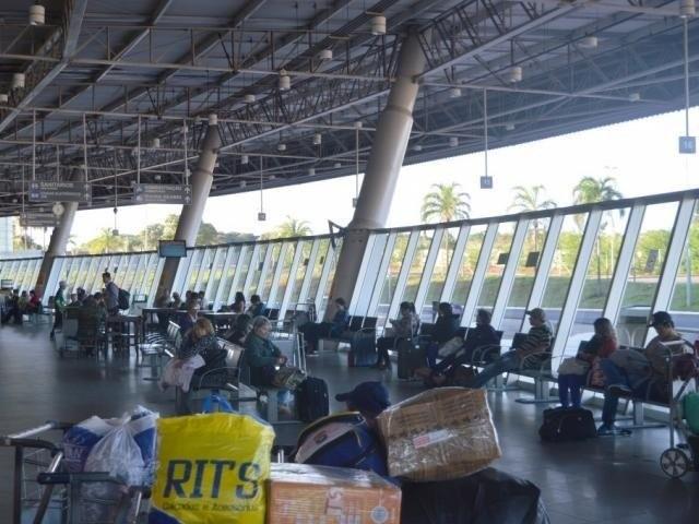 Terminal Rodoviário de Campo Grande. (Foto: Foto: Edemir Rodrigues/Governo do Estado).