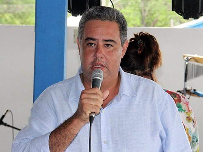 Luciano Leite, presidente do Sindicato Rural de Corumbá. (Foto: Sílvio Andrade)