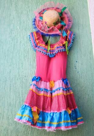 Tem mais vestidos na loja Pierrô de Campo Grande (Foto: Marina Pacheco)