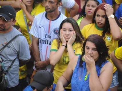 Brasileiros sofrem, mas decepção para quem torceu pela 1ª vez foi ainda maior