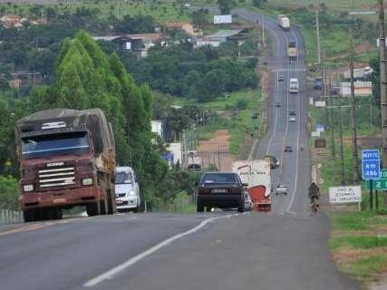 Com expectativa de tráfego intenso, BR-163 suspende obras no feriadão