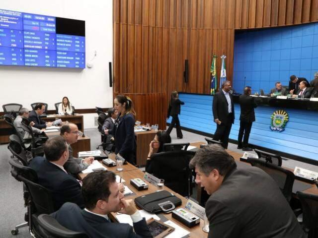 Proposta foi enviada pelo governo para Assembleia Legislativa (Foto: Victor Chileno/ALMS)