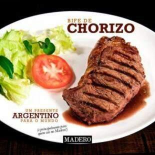 Bife de Chorizo também divide a preferência nos 55 restaurantes.