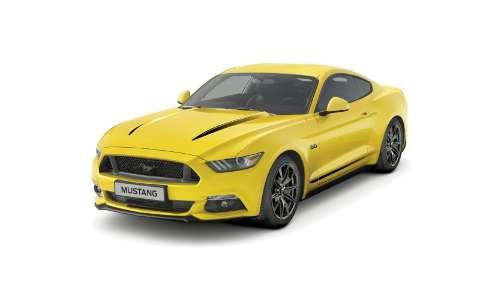 Ford apresenta o Mustang Black Shadow E Blue Edition para A Europa