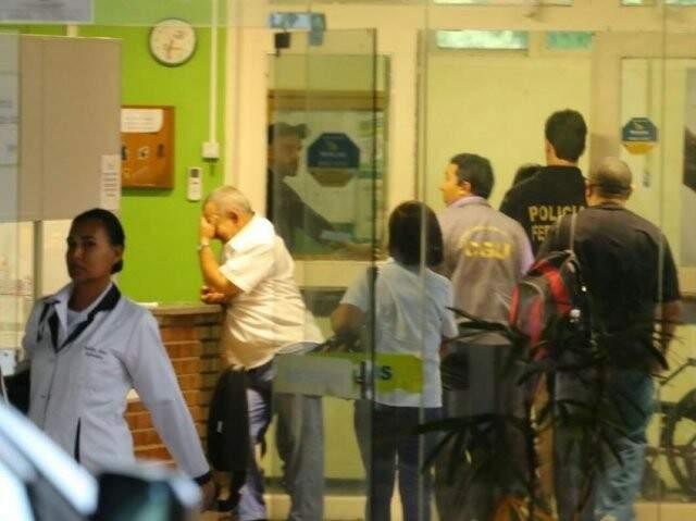 Hospital Universitário voltou a ser visitado pela PF na Operação Again. (Foto: André Bittar)