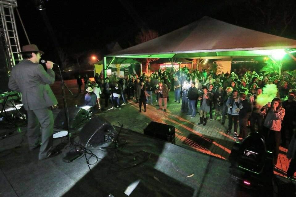 Em 2018 o festival levou vários turistas para assistir as apresentações (Foto: Divulgação/ Bonito Blues e Jazz Festival)
