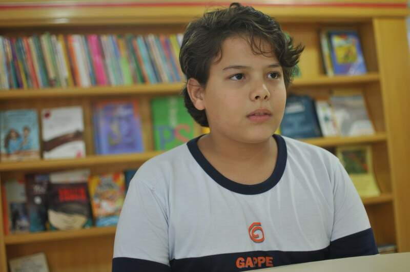 Gabriel encontrou dificuldades para levantar informações ambientais (Foto: Alcides Neto)
