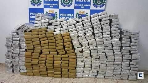 Polícia apreende 311 kg de maconha com advogado que integrava quadrilha