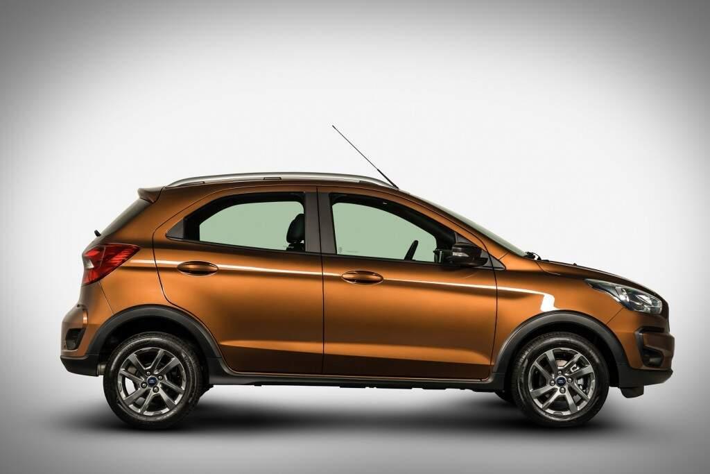 Ford apresenta versão aventureira do Ka 2019