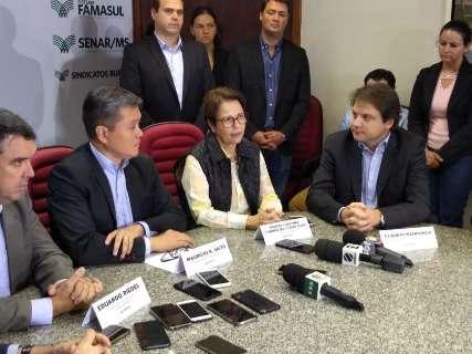 """""""Sem invasões"""": Tereza Cristina quer reformular política de reforma agrária"""