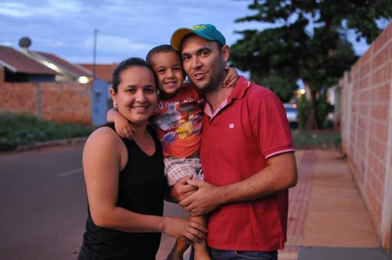 A família relata que nunca podou tal comportamento, pelo contrário: incentiva. (Foto: Alcides Neto)