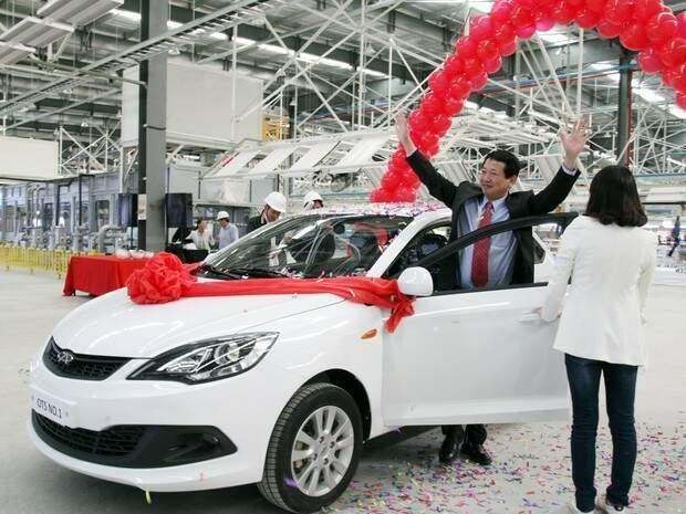 Celer foi o primeiro modelo produzido na fábrica em junho de 2014. Foto divulgação.