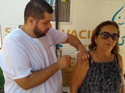 Campanha de vacinação contra a gripe terá início no dia 10 em Campo Grande