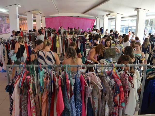 Bazar continua hoje, até às 17h, no Condomínio Damha