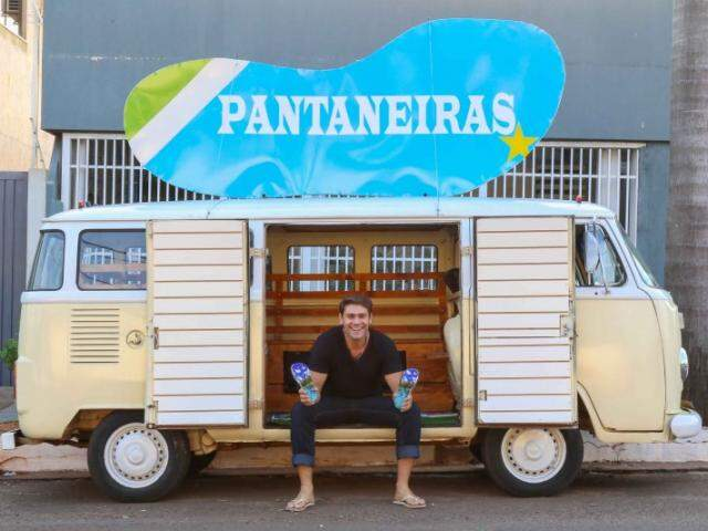 Marcos teve a ideia de criar as Pantaneiras durante um sonho (Fotos: Fernando Antunes)